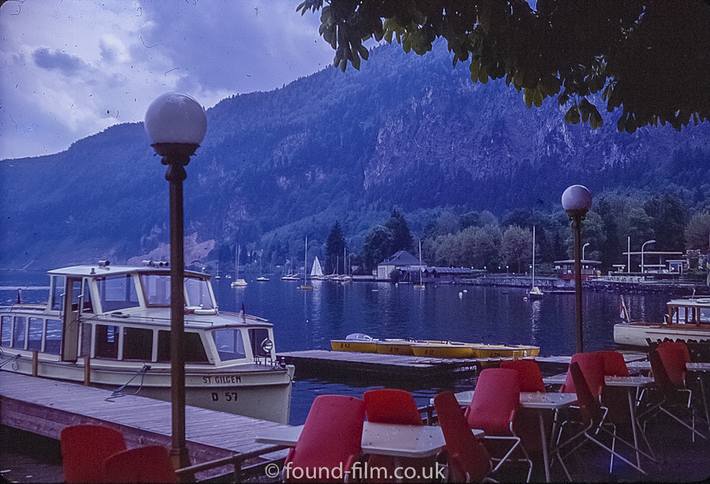 St Gilgen Lake in May 1974