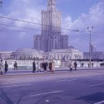 The Warsaw Palace of Culture and Science in the mid 1960s