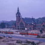 Gdańsk Główny - railway station in the 1960s