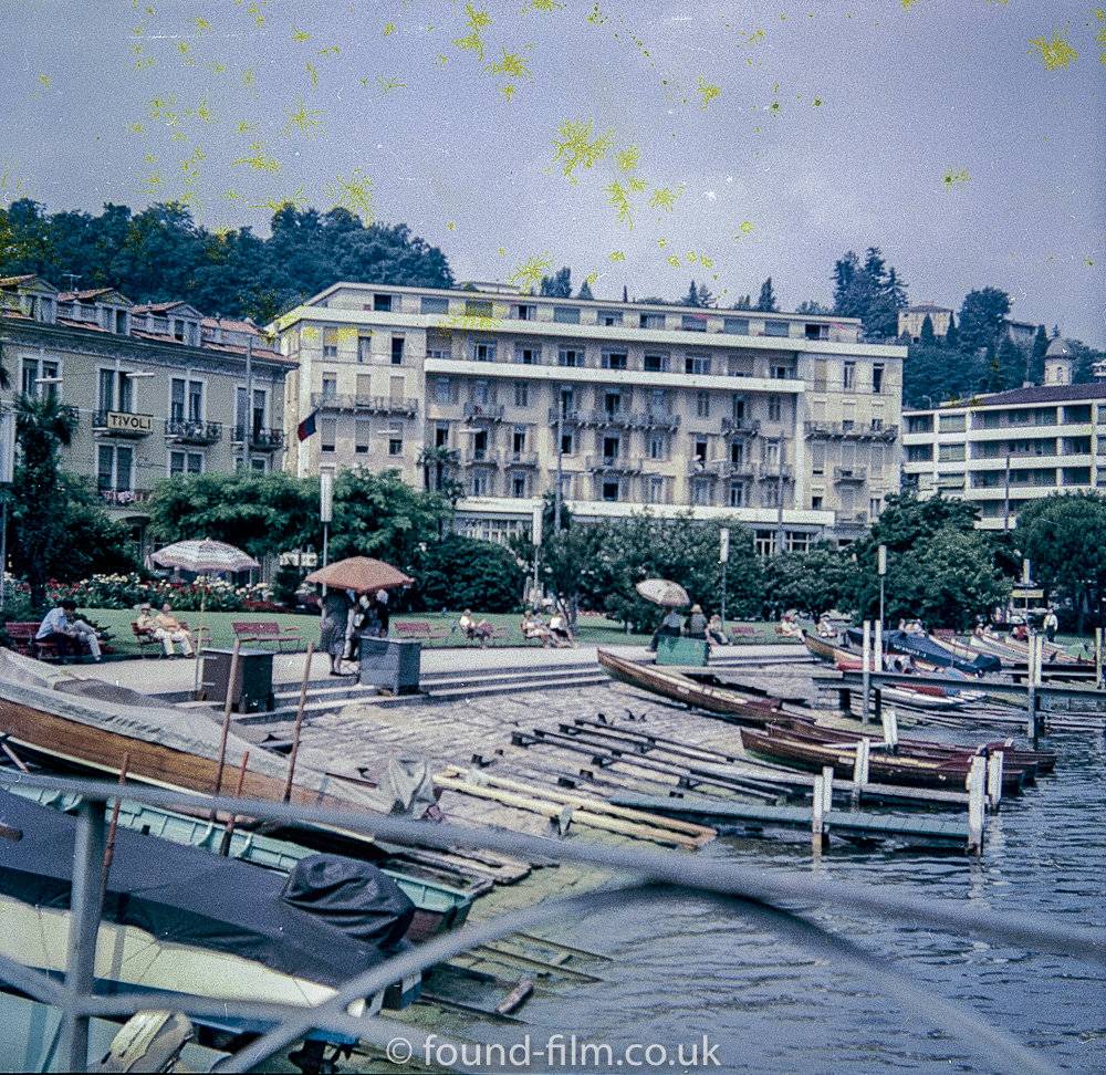Lake Lugano in Switzerland early 1960sMedium format negatives -