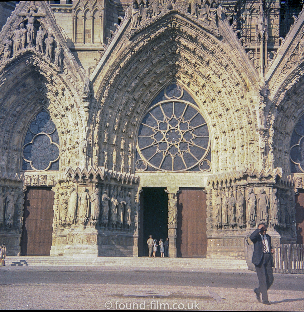 Notra Dame Cathedral Entrance