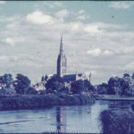 Salisbury Cathedral, probably in the 1950s