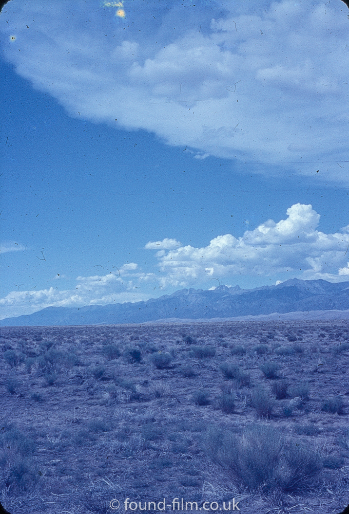 Anscochrome Film - The desert and mountains