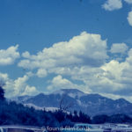 Anscochrome Film - The mountains with cars in the foreground