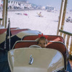 Great Yarmouth fairground ride in 1959