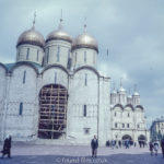 Images from Soviet Era Moscow - Moscow Cathedral Square - 1957