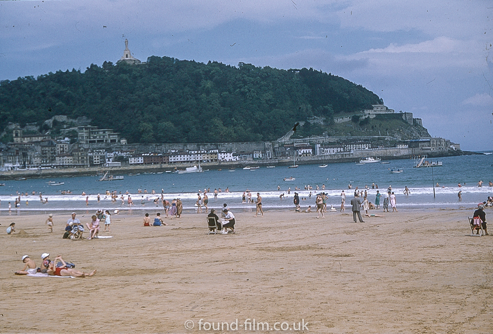 Pictures of Spain from 1955 - San Sebastian Spain, Sept 1955