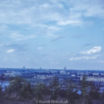 Images from Soviet Era Moscow - View from Moscow University - 1957