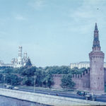 Images from Soviet Era Moscow - Walls of the Kremlin Moscow - 1957