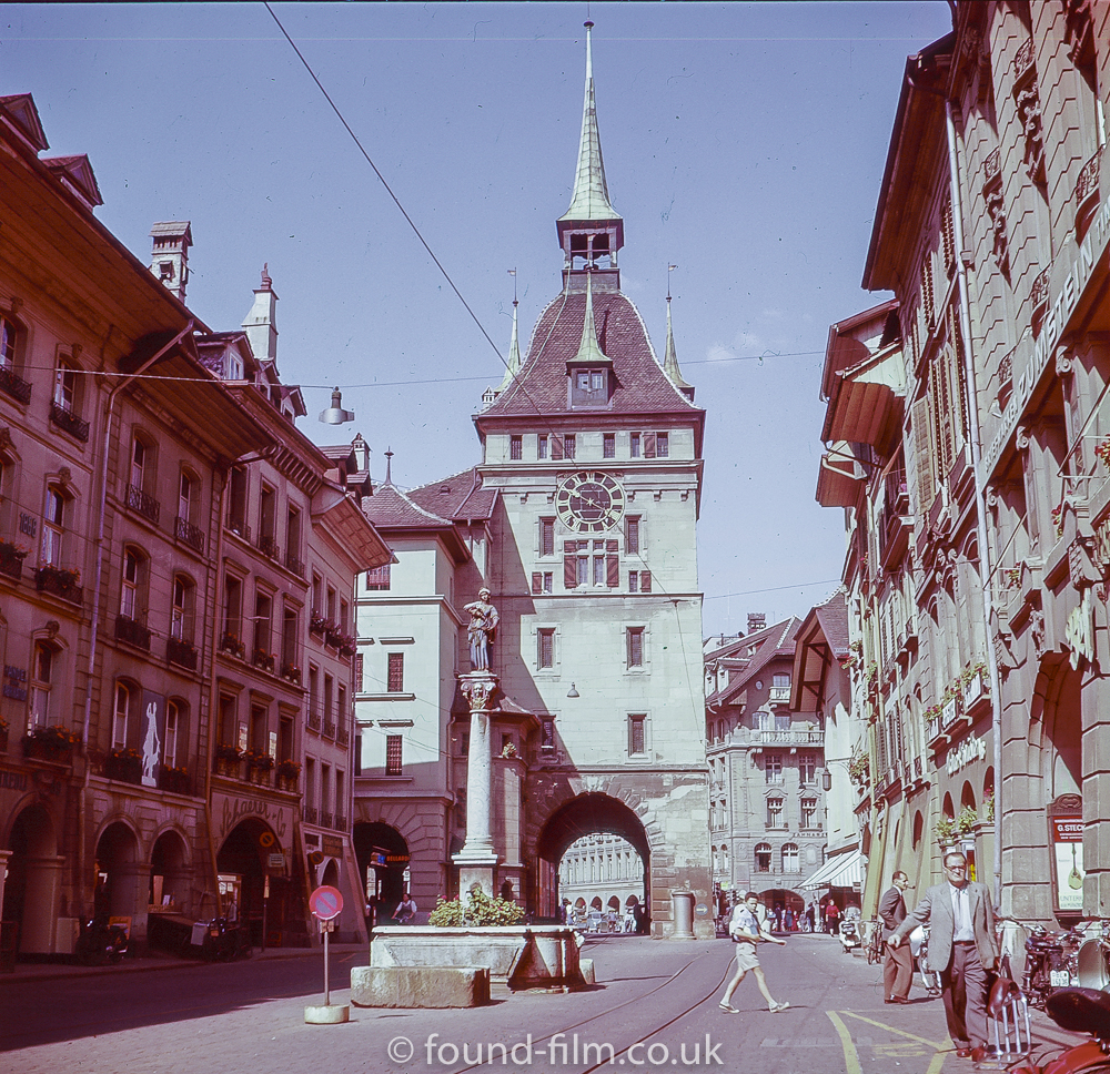Anna Seiler Fountain, Bern - 1957