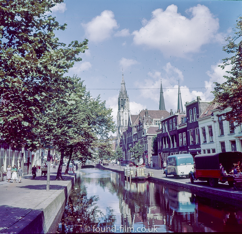 Canal in Delft, 1957
