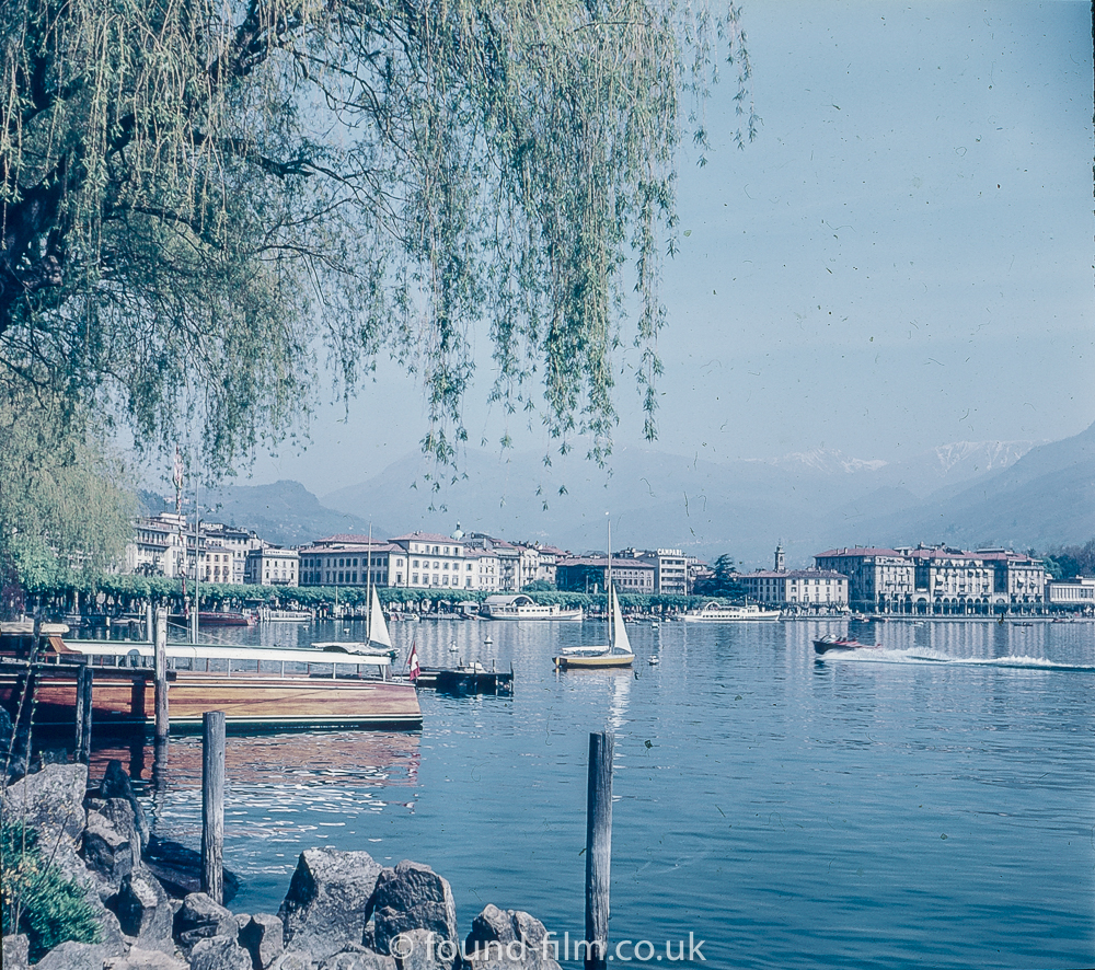 Lugano in Switzerland in 1957