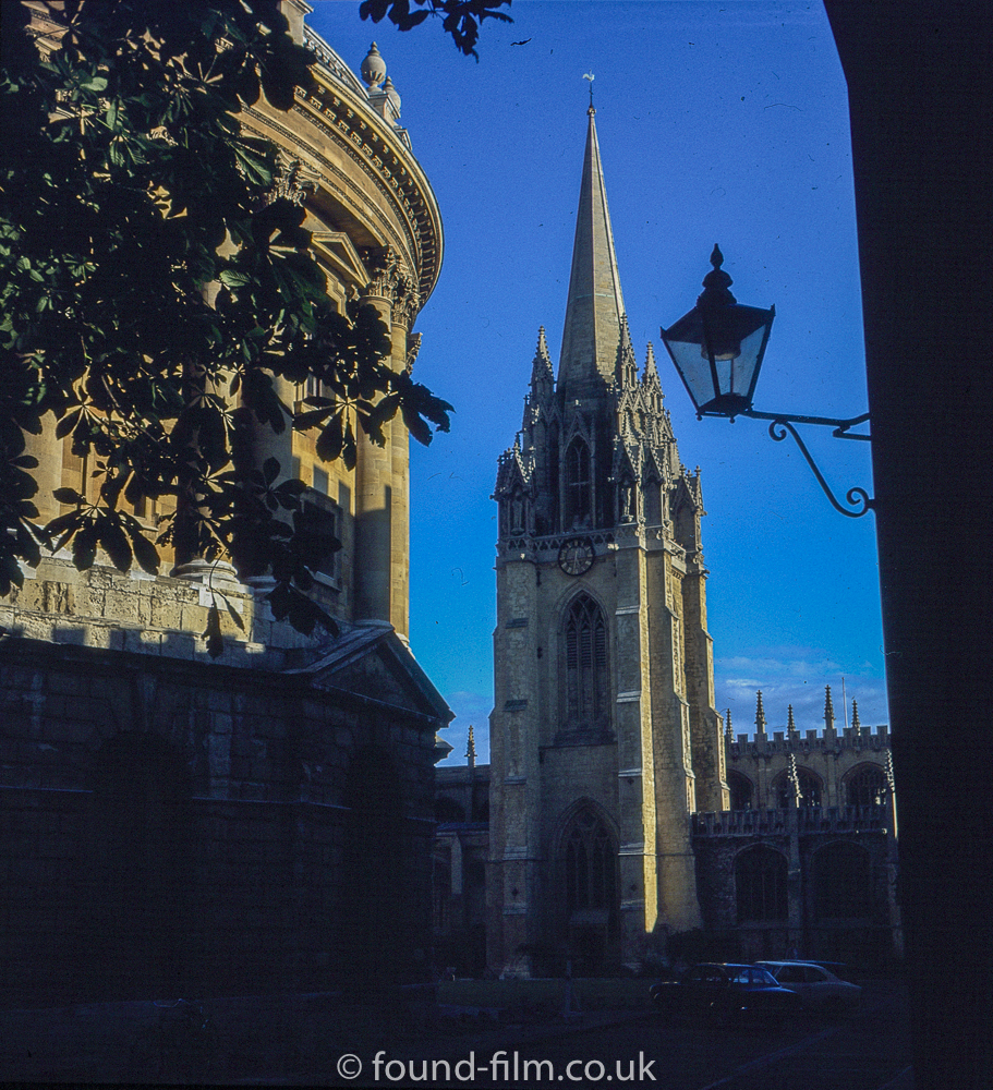 Pictures of Oxford in 1981