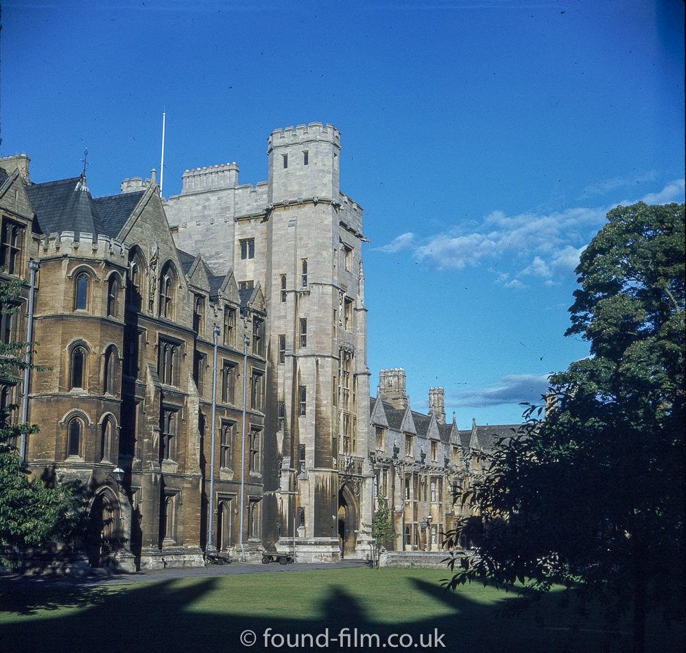 Pictures of Oxford - Square towered building