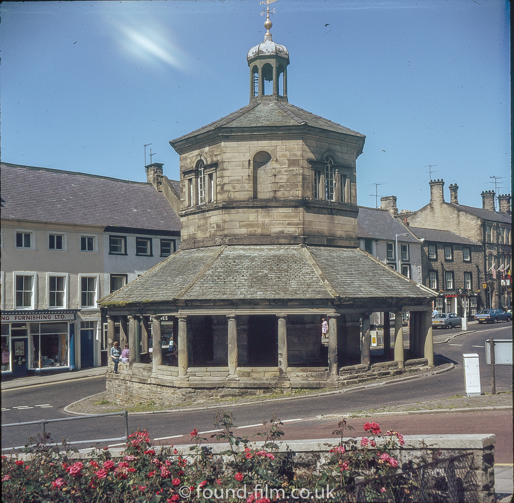 The centre of Barnard Castle in the mid 1970s