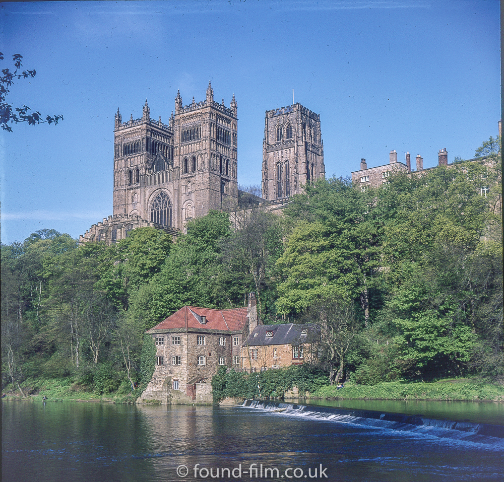 Durham Cathedral in the mid 1970s