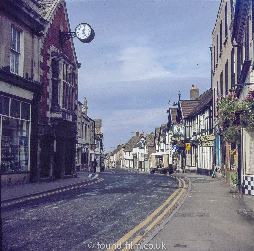 High street Winchcombe in the mid 1970s