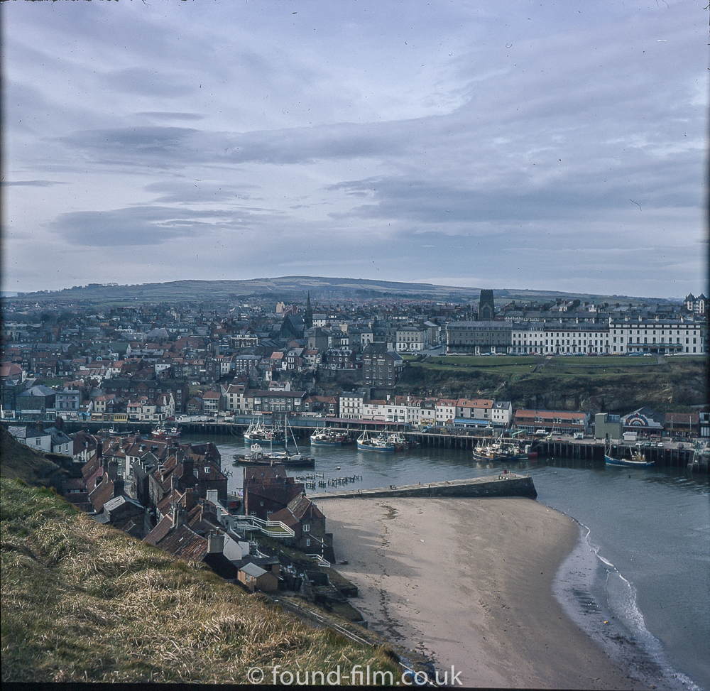 Whitby in Yorkshire in the mid 1970s