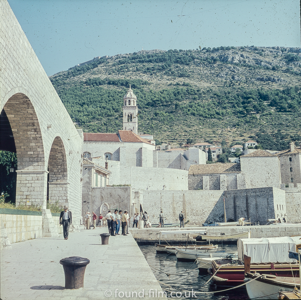 Dubrovnik Sea front in the late 1950s