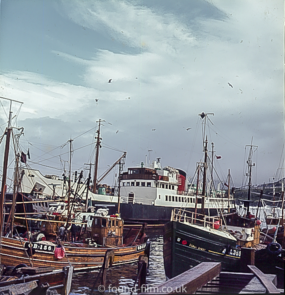 Fishing boats in Oban