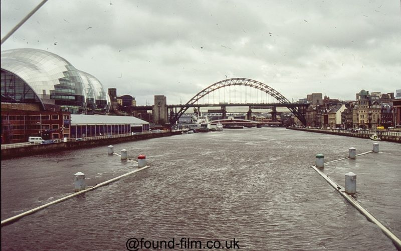 Newcastle from the river