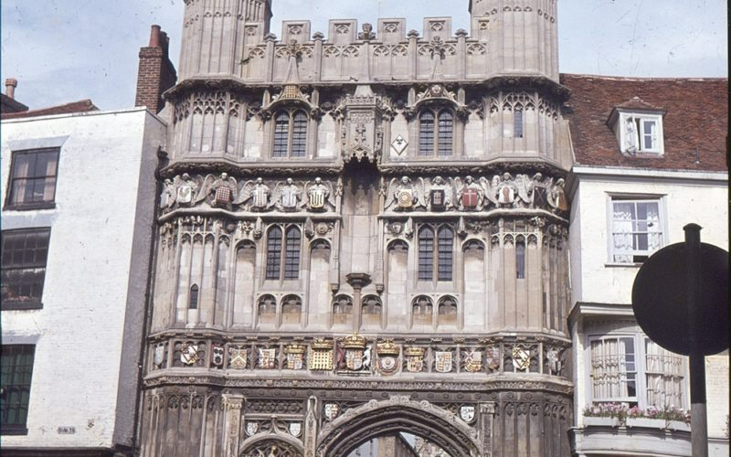 Christ Church Gate - Canterbury