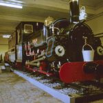 Orwo Colour Slides - Engine Charles at Penrhyn Castle Museum